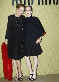 Ума Турман и ее подающая надежды дочь