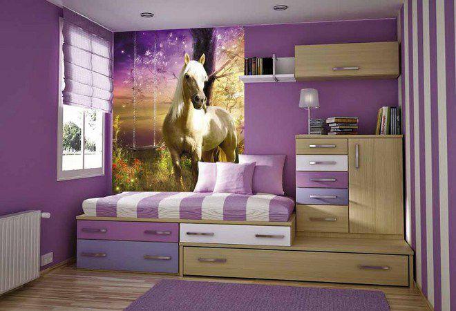 3д обои лошади