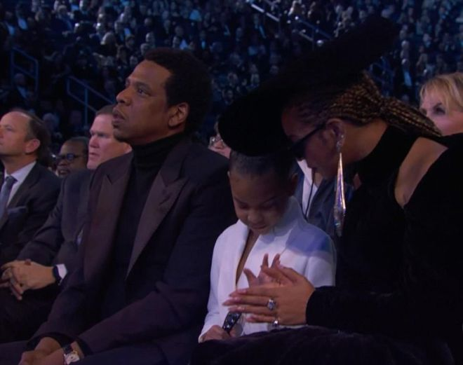 Бейонсе, Джей Зи и Блу Айви на Grammy