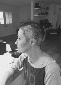 Недавно актриса остригла волосы и выложила фото в интернет
