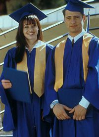 Шеннен Доэрти и Джейсон Пристли в сериале «Беверли-Хиллз, 90210»