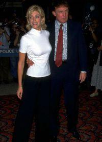 Марла Мейплз и Дональд Трамп