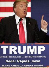Дональд мечтает стать президентом