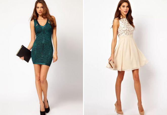 вечерние приталенные платья