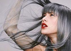 амонијака боје боје сива коса