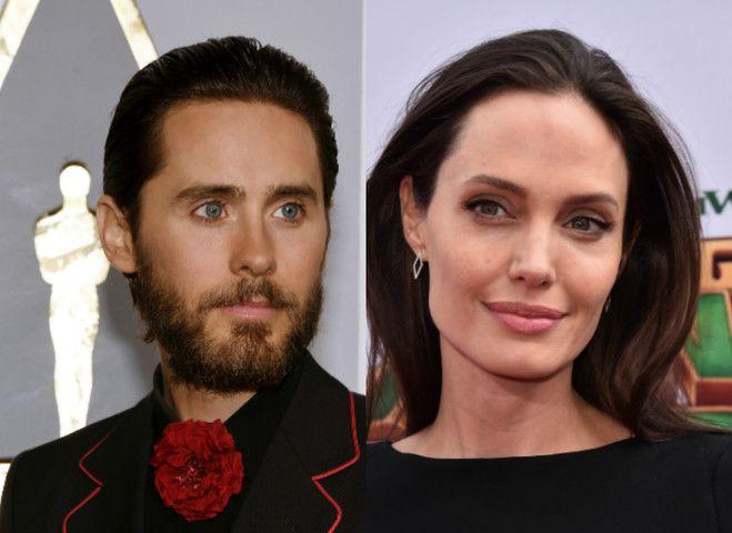Роман Анджелины Джоли и Джареда Лето это неправда