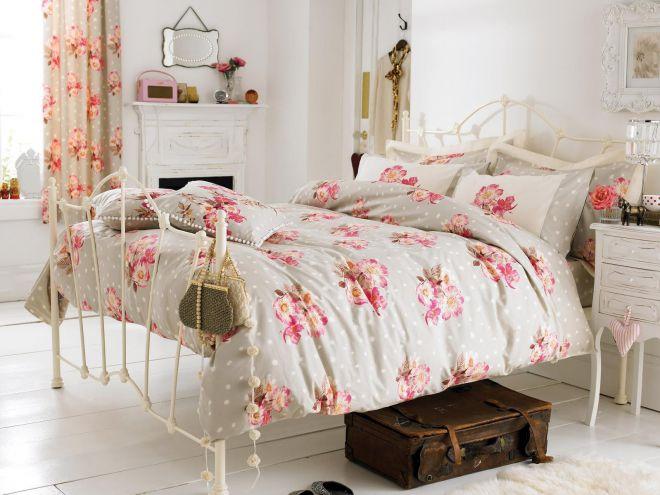 спальни в стиле шебби шик