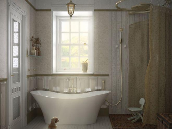 шик в ванной комнате