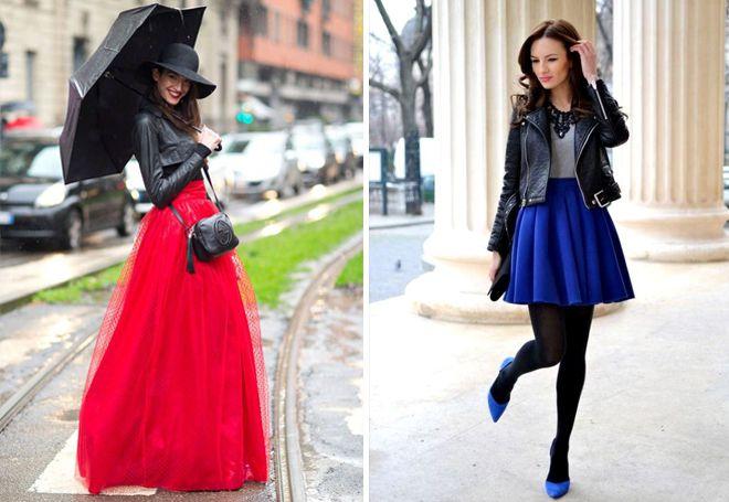 женская куртка с юбкой
