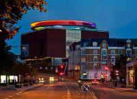 Художественный музей Орхуса с цветной смотровой площадкой