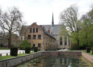 Старинный архитектурный ансамбль аббатства Камбр