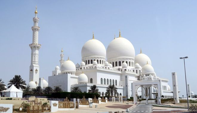 Мечеть шейха Зайда (Белая мечеть), Абу-Даби