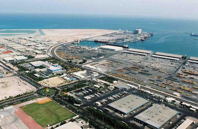 Порт Заид, Абу-Даби