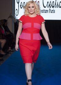 Хейли Хассельхофф является известной моделью plus-size
