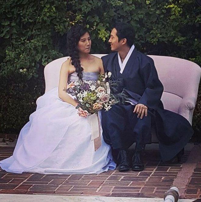 Свадьба прошла в семейном кругу