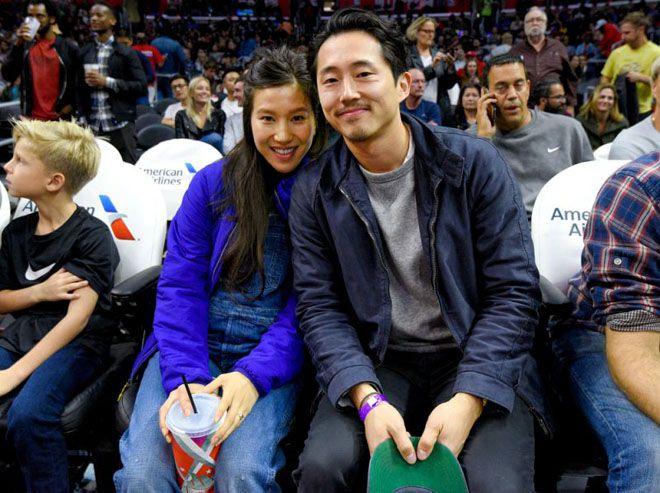 Стивен Ён и Джоана Парк