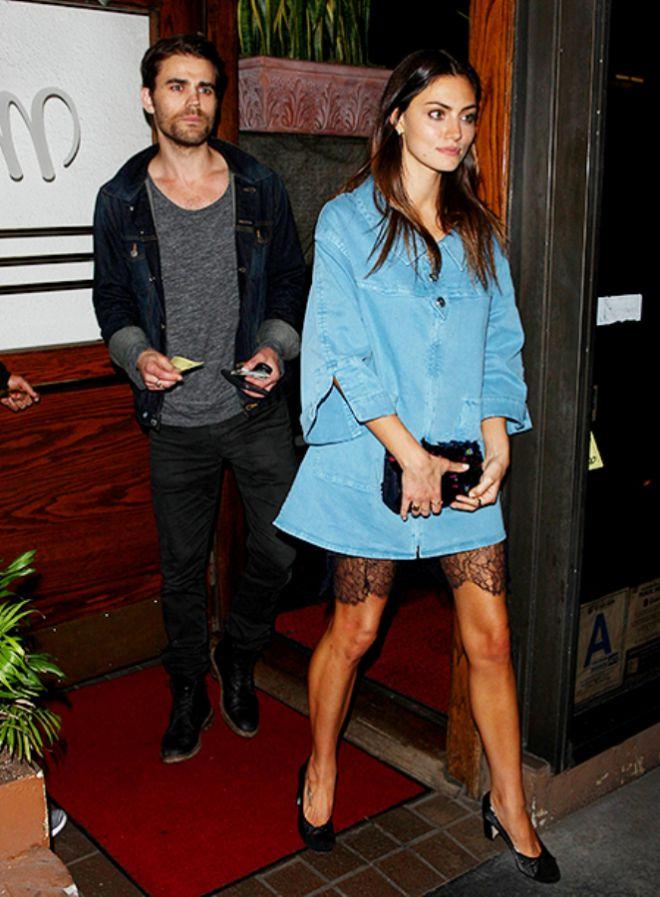 Пол и Фиби стали встречаться после развода актера