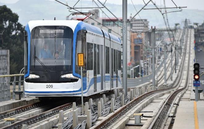 Легкорельсовое метро в эфиопской столице