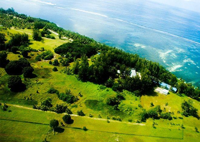 Природа на островах атолла