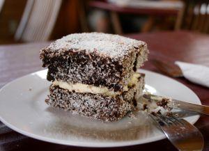 Традиционный австралийский десерт - ламингтон