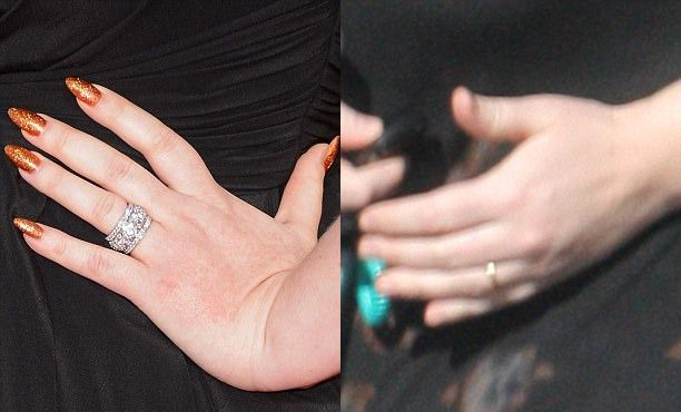 Помолвочное и обручальное кольцо