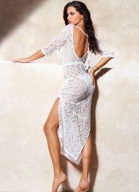 Пляжное платье привело в восторг многих поклоников итальянсконо бренда