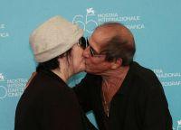 Адриано Челентано и Клаудия Мори в старости