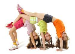 ćwiczenia aerobiku dla dzieci