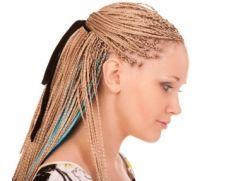 фризуре из афричких плетеница