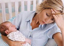 Po porodzie żołądek boli