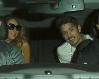 Брайан и Мэрайа сели в одно авто
