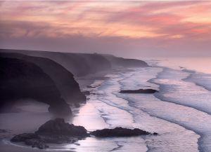 Пляж Легзира ночью