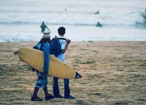 Агадир - рай для серферов