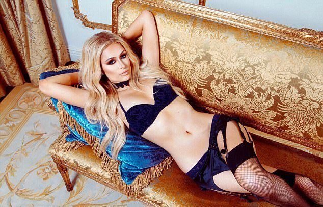 Пэрис Хилтон предсттавила коллекцию нижнего белья Paris Hilton Lingerie