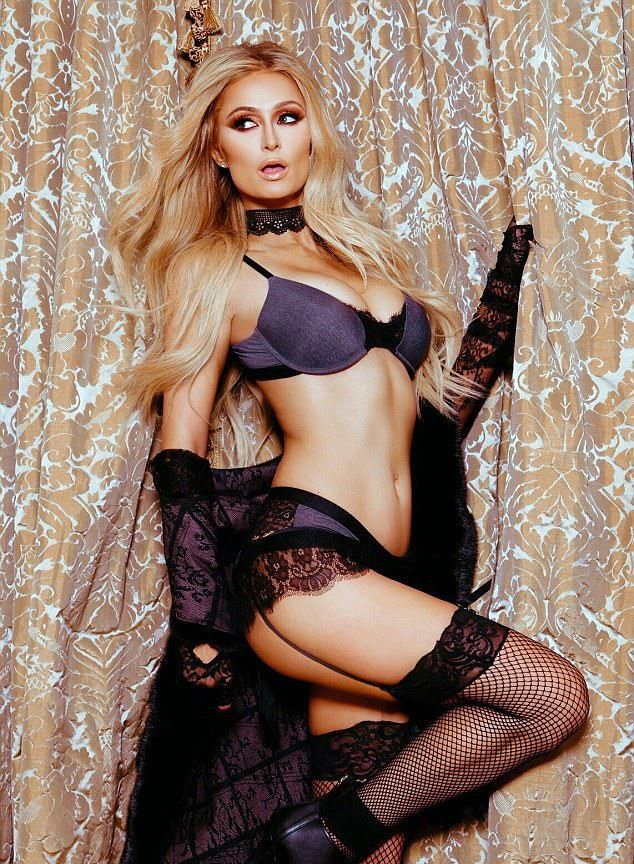 Пэрис Хилтон показала  коллекцию нижнего белья Paris Hilton Lingerie