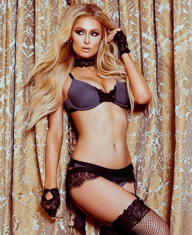 Пэрис Хилтон презентовала коллекцию нижнего белья Paris Hilton Lingerie
