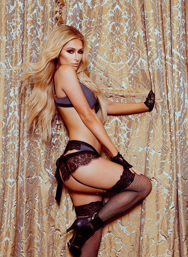 Пэрис Хилтон продемонстрировала коллекцию нижнего белья Paris Hilton Lingerie