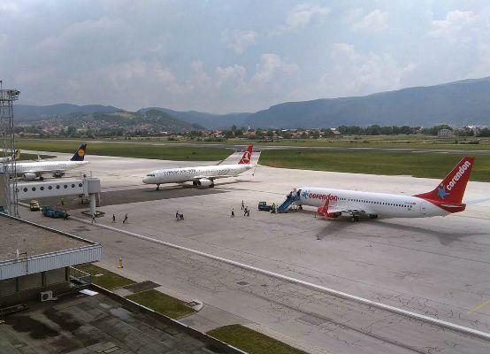 Босния и Герцеговина аэропорт Сараева