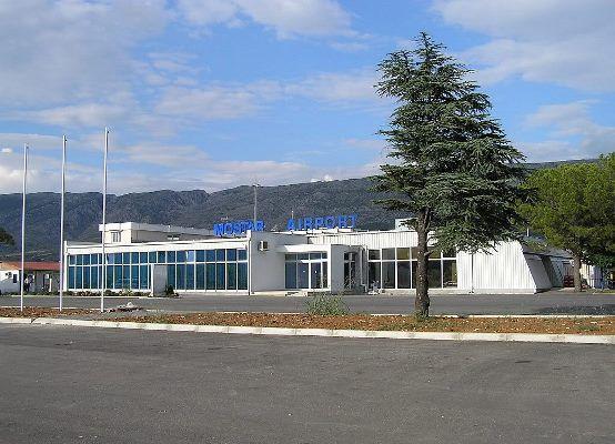 Босния и Герцеговина аэропорт Мостар