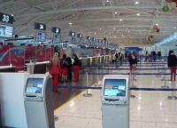 Стойки регистрации аэропорта Ларнаки