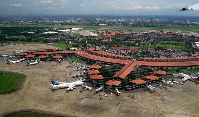 Международный аэропорт Сукарно-Хатта в Джакарте, Индонезия