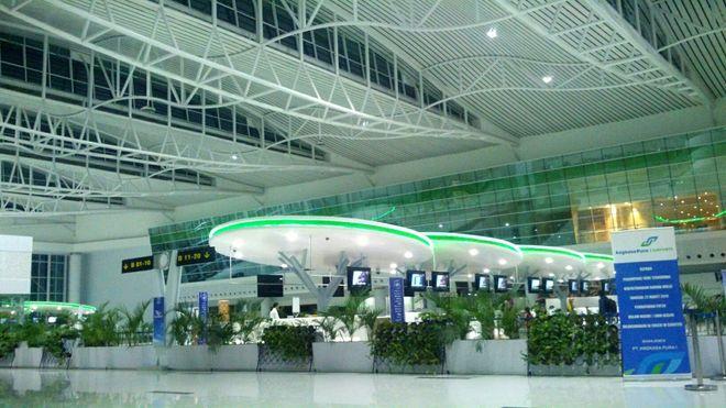 Аэропорт имени султана Аджи Мухаммада Сулеймана в Баликпапане, Индонезия