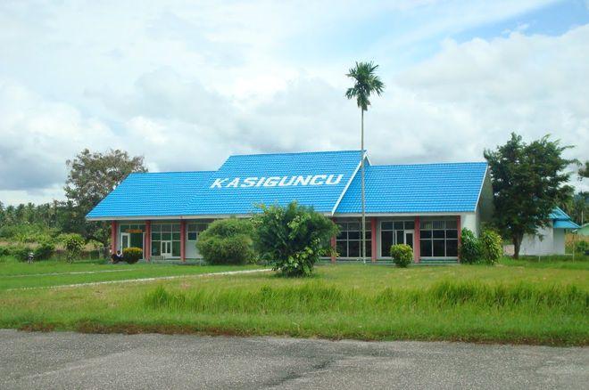 Аэропорт Касигунцу на острове Сулавеси, Индонезия