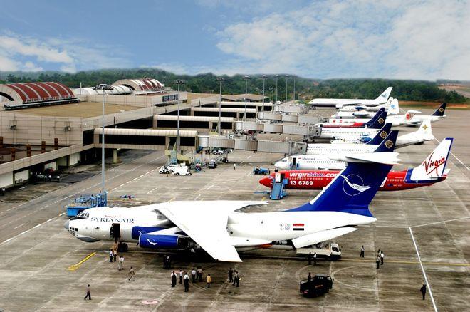 Аэропорт Ханг-Надим на острове Батам, Индонезия
