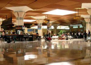 Аэропорт Агадира внутри