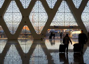 Интерьер аэропорта в Марракеше