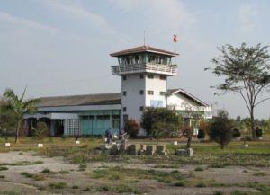 Аэропорт Бамо в Мьянме