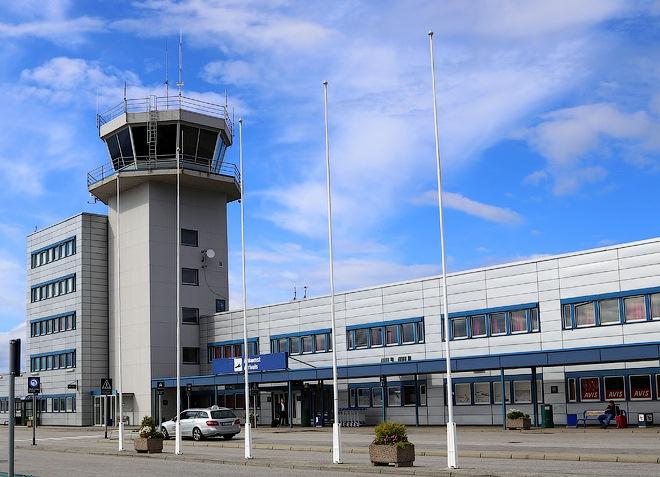 Аэропорт города Олесунн