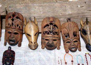 Деревянные маски догонов