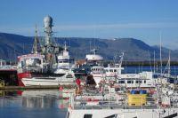Корабли в порту Акранеса